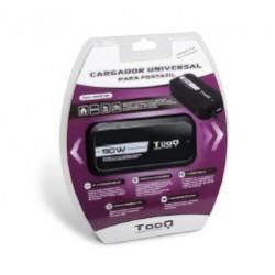 Tooq 90W Compatible 2 USB + 12 Conectores