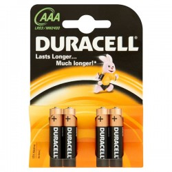Duracell Basic AAA 4ud