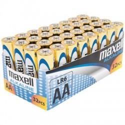 Maxell AA LR06 32Ud Alcalina