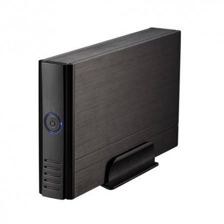 """Tooq Caja 3,5"""" IDE/Sata USB 2.0 Negra"""