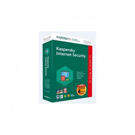Kaspersky Internet Security 4 dispositivos Ed. Esp
