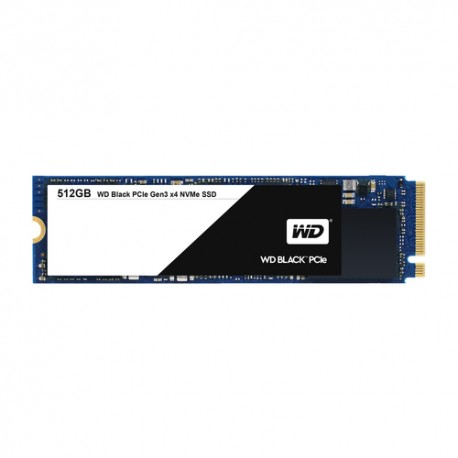 Western Digital 512Gb SSD PCIe M.2 2280 Black