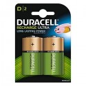 Duracell HR20 D Recargable 3000mAH 2Ud