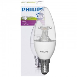 PHILIPS E14 CorePro LED Vela 5.5-40W B35 2700K