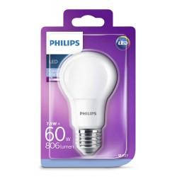 PHILIPS E27 Consumer LED 7.5-60W A60 6500K