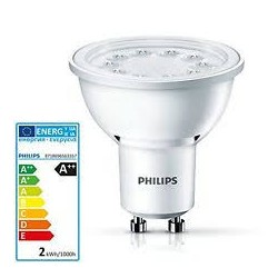 PHILIPS GU10 CorePro LED Foco 5-50W 3000K 50D