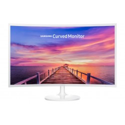 """Samsung LC32F391, 31.5"""", Curvo, Blanco, HDMI"""