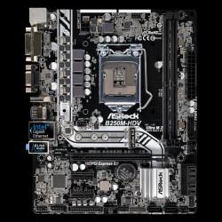 Asrock B250M-HDV, socket H4, microATX