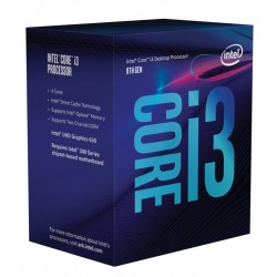 Intel i3-8100, 3.6 GHZ, 6MB, LGA1151