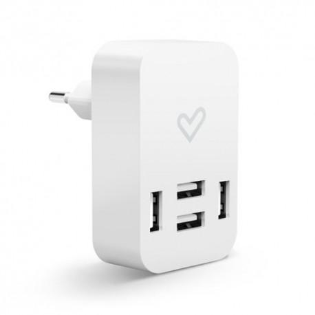 Energy Home Charger 4.0A Quad USB 4000mA