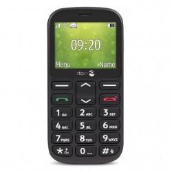 Doro 1361, teléfono móvil senior, Negro