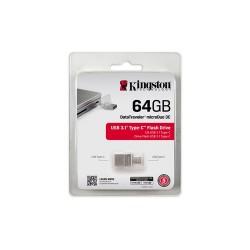 Kingston USB 64GB Microduo, USB 3.0/3.1 Tipo C