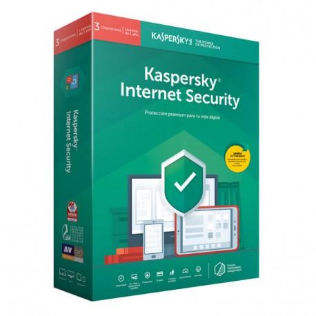 Kaspersky Internet Security 2019, 3 dispositivos