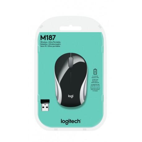 Logitech M187, Mini ratón inalámbrico