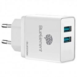 Bluestork universal 2 puertos USB 3,1A