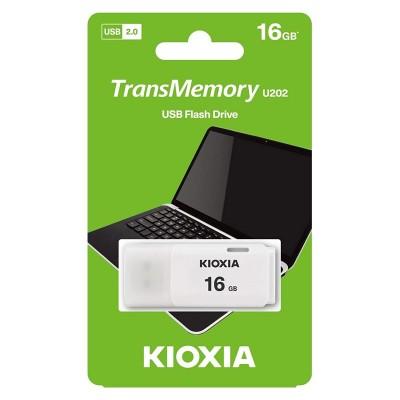 Kioxia 16GB USB 2.0 Aqua Blanco