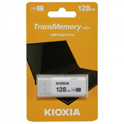 Kioxia 128Gb USB 3.2 U301 Blanco