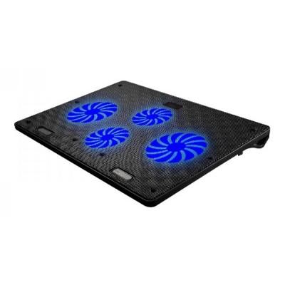 Omega Base de ventilación para portátil 10-18