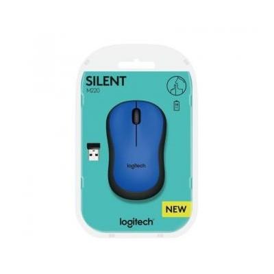 Logitech M220 Silent Plus Azul