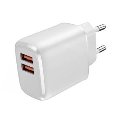 Platinet USB Cargador Doble 3.0 3A 18W