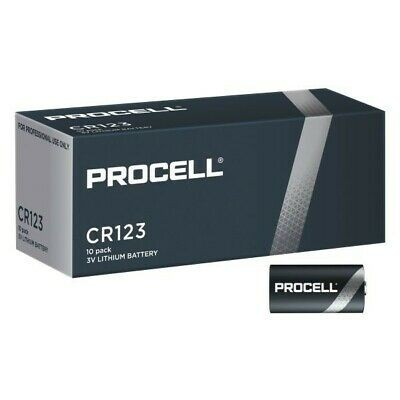 Duracell CR123 3V Procell 10ud
