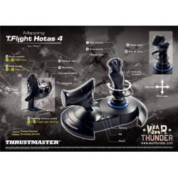 Thrustmaster T-Flight Hotas 4 War Thunder Starter