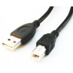Gembird USB A/B 1.8m Negro