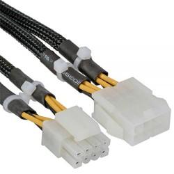 Inline Cable alargador alimentación CPU EPS 8 pin