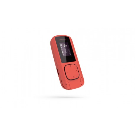 Energy Sistem MP3 Clip Coral, 8GB, FM, microSD