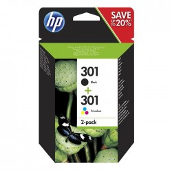 HP 301 Pack Negro + Color