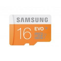 Samsung 16GB, MicroSDHC EVO, Clase 10 + Adaptador