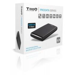 "Tooq Caja externa HD negra, 2,5"", SATA"