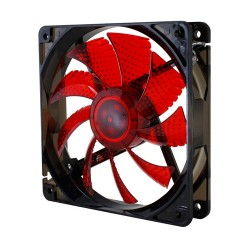 Nox CoolFan 120mm Led Rojo