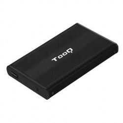 """Tooq Caja 2,5"""" SATA USB 2.0 Negra"""