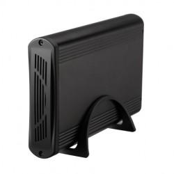 """Tooq Caja 3,5"""" Sata USB 3.0 Negra"""