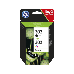 HP 302 Pack Negro + Color