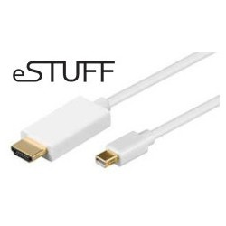Estuff cable Mini Displayport - HDMI 1.8m