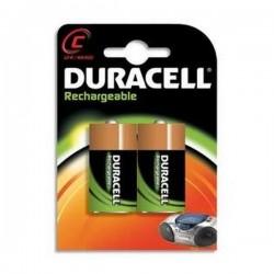 Duracell Ultra Recargable C 3000mAh 2Ud HR14