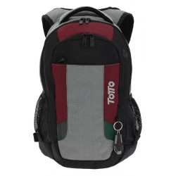 Totto Mochila Tablet y PC Kriptone Negra/Roja