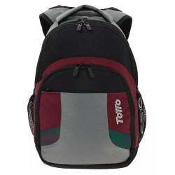 Totto Mochila Tablet y PC Terbio Negro/ Rojo
