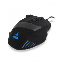 Ewent ratón Gaming 3200DPI, 6 botones, Iluminación