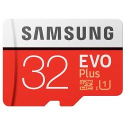 Samsung microSDHC, 32GB, C10, EVO+, Adaptador