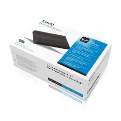 """Tooq Caja externa HD 2,5"""", SATA USB 3.0, Negra"""