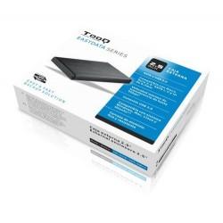 """Tooq Caja externa HD 2,5"""", SATA, USB 3.0, Negra"""