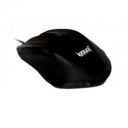 iggual WORK-1 Ratón óptico 1600dpi 6D USB Negro