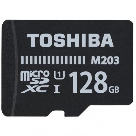 Toshiba 128GB, MicroSD, Clase 10, UHS-I, 100 MB/s