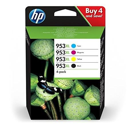 HP 953XL, 4-pack