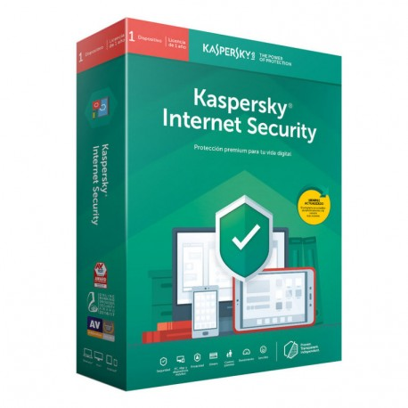 Kaspersky Internet Security 2019, 1 dispositivo