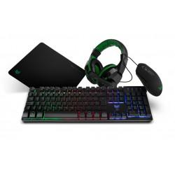 BG Combo Gaming teclado + ratón + auriculares