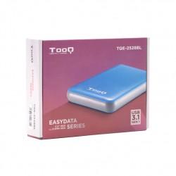 """Tooq Caja externa HD 2,5"""", SATA, USB 3.1, Azul"""